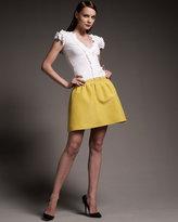 Valentino Mikado Full Skirt