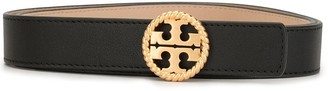Tory Burch Logo Plaque Belt