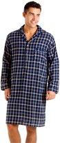 i-Smalls Haigman Men's Luxury Brushed Cotton Nightshirt Nightwear 7394 (M)