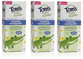 Tom's of Maine Toddlers Fluoride-Free Natural Toothpaste in Gel, Mild Fruit, 1.75 Ounce, 3 Count