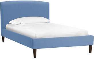 One Kings Lane Sloan Kids' Bed - French Blue Linen - Twin
