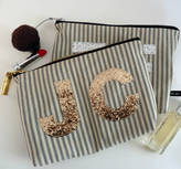 Jo-Jo JoJo Accessories Wash Bag With Large Glitter Monogram