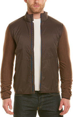 Icebreaker Descender Hybrid Wool-Blend Jacket