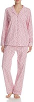 Eileen West Long Sleeve Knit Pajama Set