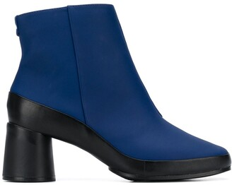 Camper Upright two-tone boots