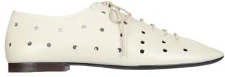 Lemaire Hole Detail Lace-Up Shoes