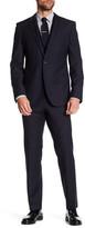 HUGO BOSS Hattrick Final Two Button Notch Lapel Three Piece Trim Fit Suit