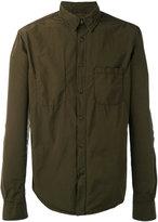 Aspesi plain long sleeve shirt - men - Polyester/Polyamide - M