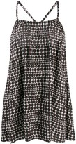 Chanel Pre Owned 2010's polka dotted loose dress