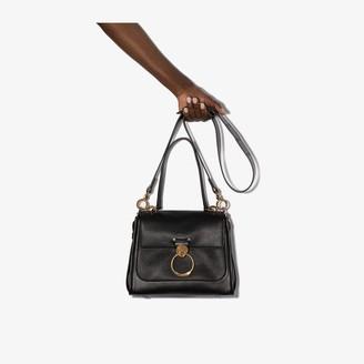 Chloé black Tess small leather top handle bag