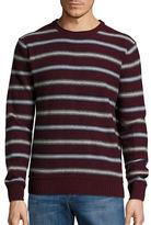 Black Brown 1826 Wool-Blend Striped Sweater