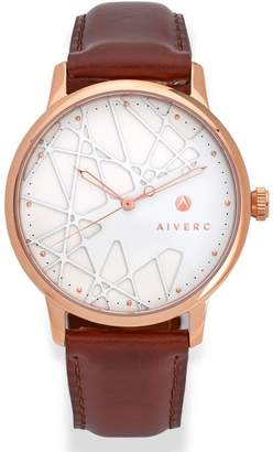 Limited Edition Luxury Analog Watches By Aiverc Opera Classic Rose Gold With 40Mm Watch Band For Women