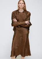 Jil Sander Rust Duckling Dress