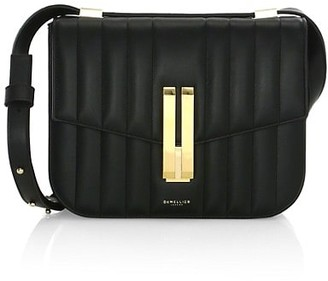 DeMellier Vancouver Leather Crossbody Bag