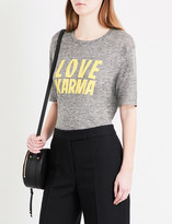 Sandro Karma linen T-shirt