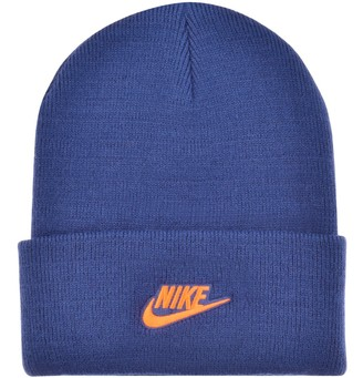 Nike Cuffed Beanie Hat Blue