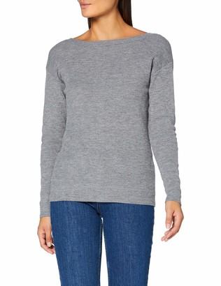 Morgan Women's Pull Boutonne Dos Mguia Sweater