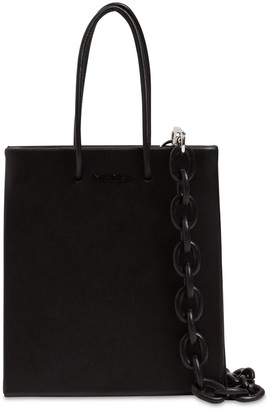 Medea Short Leather Bag W/chain