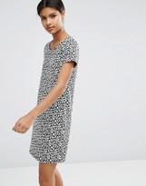 Vila Animal Print Shift Dress