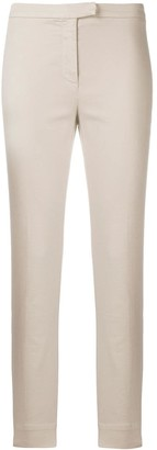 Eleventy Cropped Slim Fit Trousers