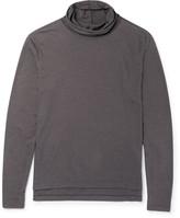 Paul Smith Slub Silk and Cotton-Blend Rollneck Sweater
