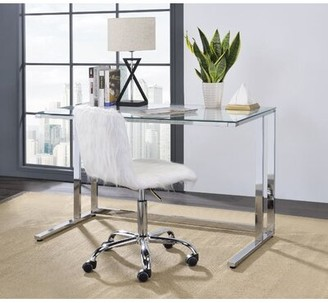 Glass Desk Table Shop The World S Largest Collection Of Fashion Shopstyle