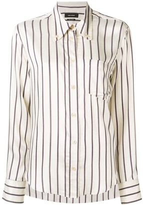 Isabel Marant striped button shirt