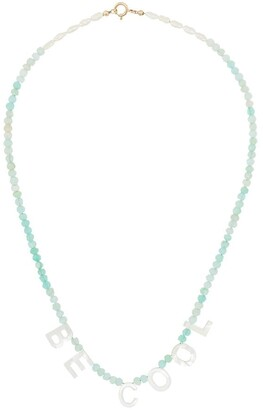 Roxanne First 'Be Cool' beaded necklace
