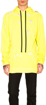 Unravel for FWRD Oversized Hoodie in Yellow,Neon.