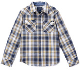 Lucky Brand Blue & Yellow West Indigo Button-Up - Boys