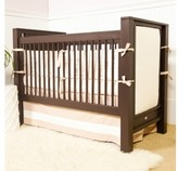 The Well Appointed House Newport Cottages Ricki Crib with Upholstered Panels-Available in a Variety of Finishes