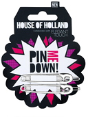Elegant Touch House Of Holland Safety Pin Slides x 3