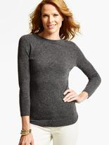Talbots Cashmere Audrey Sweater-Donegal Tweed