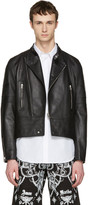 Givenchy Black Leather Moto Jacket