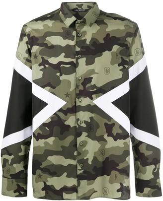Neil Barrett Camouflage-Print Shirt