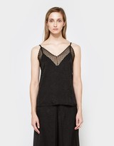 Deeta Tank in Black