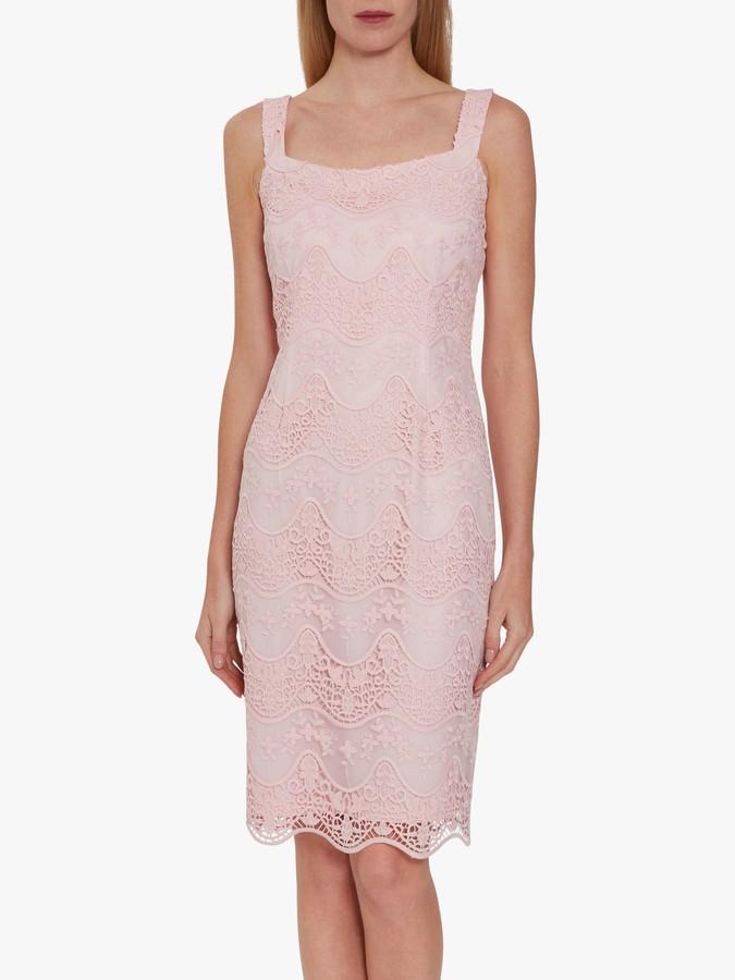 Gina Bacconi Stevie Floral Lace Dress