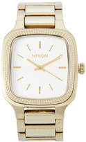 Nixon A362 Champagne Gold & Silver Shelly Watch