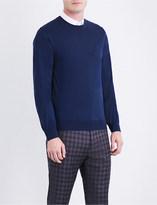 Brioni Crewneck wool jumper