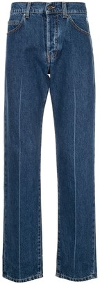 MSGM High Waisted Regular Jeans