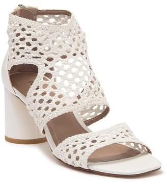 Donald J Pliner Herra Woven Leather Sandal