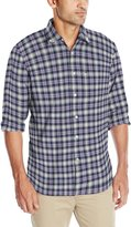 Izod Men's Comfortable Long Sleeve Button Down Oxford Woven Stylish Shirt