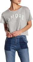 Wildfox Couture Amore Hearts Cropped Shirt