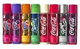 Bonne Bell Lip Smackers Coca Cola Fanta Sprite Coke Bargs, Set of 8 Lip Balms