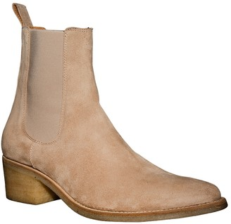Amiri Pointed Toe Chelsea Boot Tan