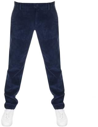 Tommy Jeans Tapered Cord Chinos Navy