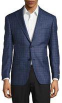 Michael Kors Plaid Suit Jacket