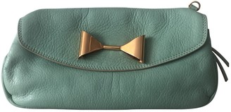 See By Chloã© See By ChloA Turquoise Leather Clutch bags