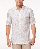 Tasso Elba Men's Linen Paisley Shirt, Created for Macy's