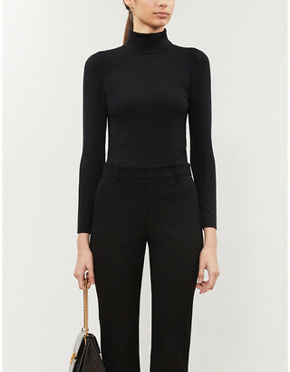 Joseph Turtleneck silk-blend jumper